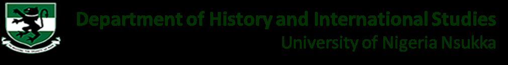 Dept. of History and International Studies